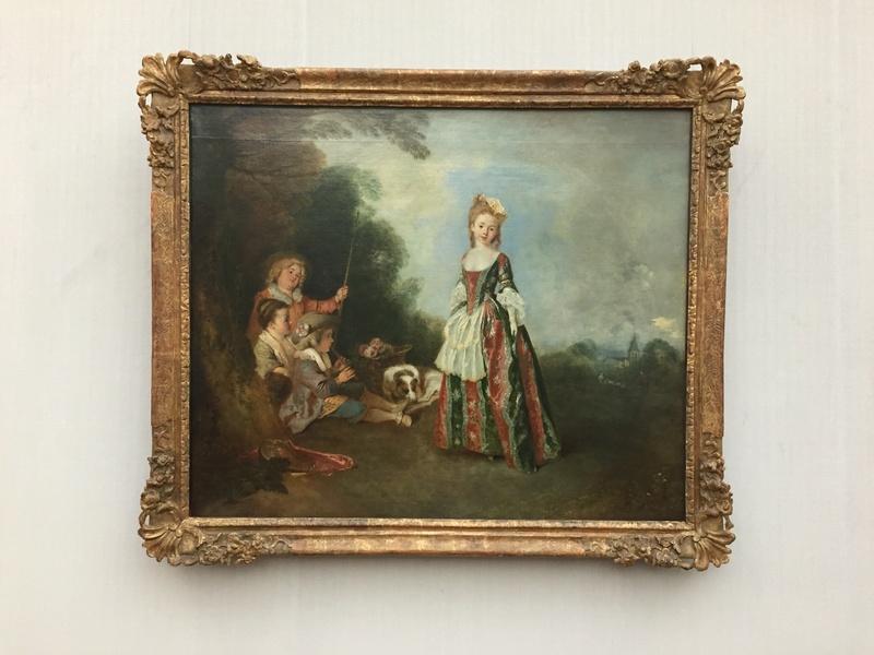 La peinture XVIIIème au musée de la peinture de Berlin (Gemäldegalerie) 171910
