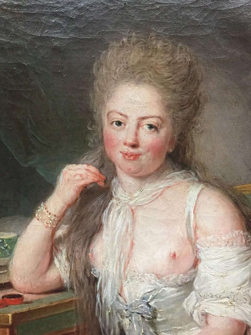 La peinture XVIIIème au musée de la peinture de Berlin (Gemäldegalerie) 1770_210
