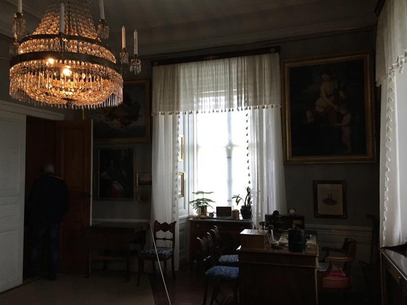 Le château de Löfstad, résidence de Sophie Piper, soeur d'Axel Fersen 1810