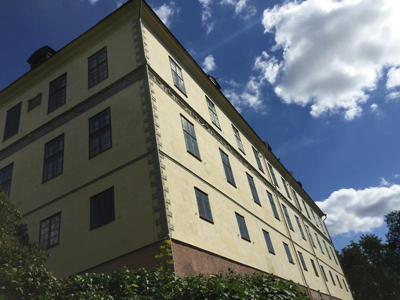 Le château de Löfstad, résidence de Sophie Piper, soeur d'Axel Fersen 1812