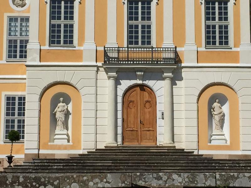 Le château de Steninge, résidence d'été d'Axel Fersen  1813