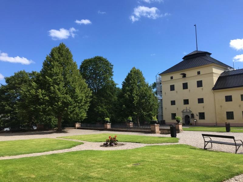 Le château de Löfstad, résidence de Sophie Piper, soeur d'Axel Fersen 1912
