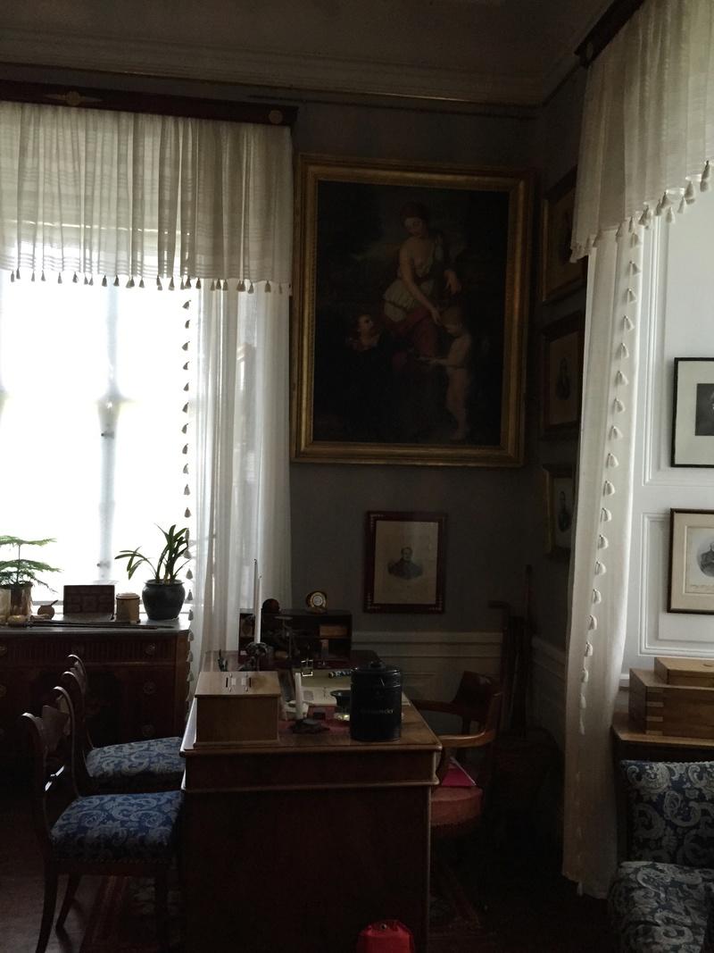 Le château de Löfstad, résidence de Sophie Piper, soeur d'Axel Fersen 2010