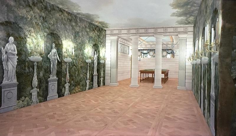 Les maisons de bois pour les bals de Marie-Antoinette  326
