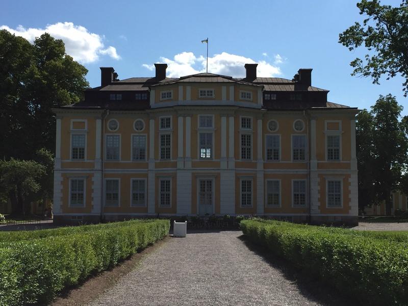 Le château de Steninge, résidence d'été d'Axel Fersen  415