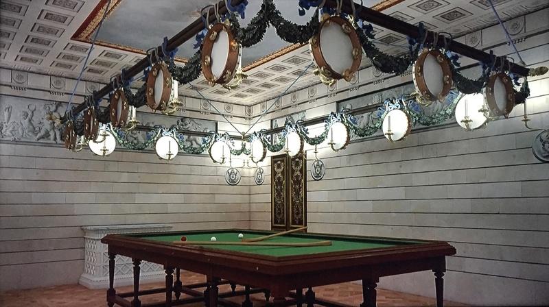 Les maisons de bois pour les bals de Marie-Antoinette  426