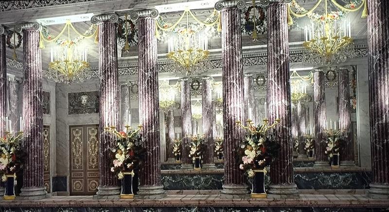Les maisons de bois pour les bals de Marie-Antoinette  724