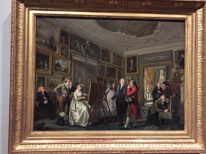 La peinture et le mobilier XVIIIème au Rijskmuseum d'Amsterdam 824