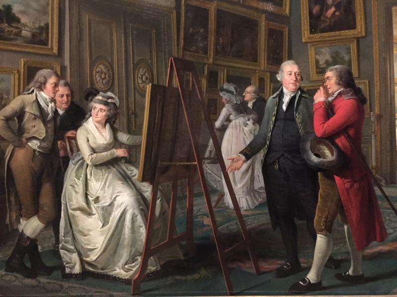 La peinture et le mobilier XVIIIème au Rijskmuseum d'Amsterdam 922