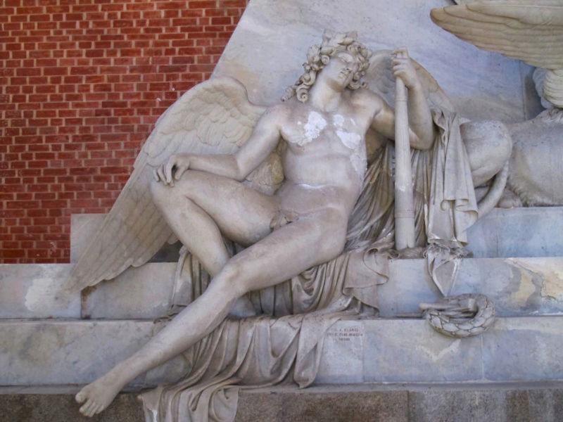 Le monument funéraire d'Antonio Canova (1757-1822) à la basilique des Frari (Venise) Captu113