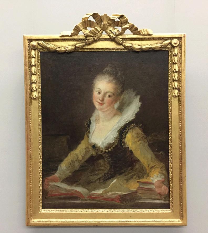 La peinture française du XVIIIème siècle au Louvre Captu135