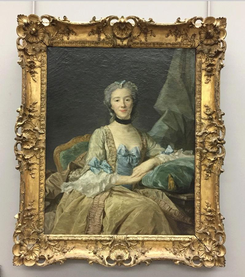 La peinture française du XVIIIème siècle au Louvre Captu143