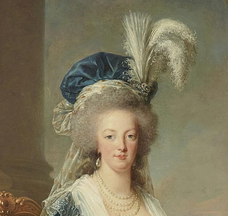 Portraits de Marie-Antoinette au livre, en robe bleue, par Vigée Le Brun (1785 - 1788 ?) - Page 2 Captu169