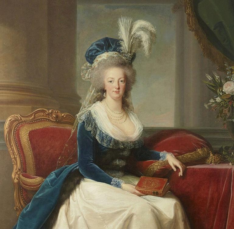 Portraits de Marie-Antoinette au livre, en robe bleue, par Vigée Le Brun (1785 - 1788 ?) - Page 2 Captu170