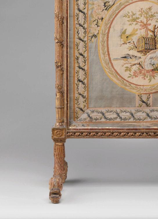 Le boudoir d'argent de Marie-Antoinette au château de Fontainebleau  Captu243