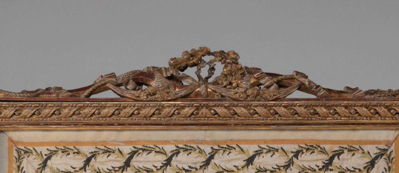 Le boudoir d'argent de Marie-Antoinette au château de Fontainebleau  Captu245