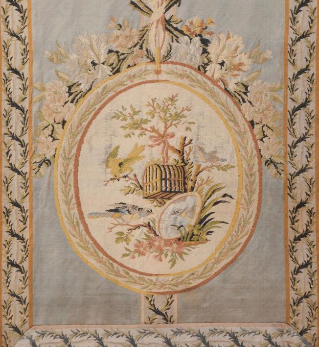 Le boudoir d'argent de Marie-Antoinette au château de Fontainebleau  Captu246