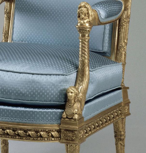 Le boudoir d'argent de Marie-Antoinette au château de Fontainebleau  Captu247