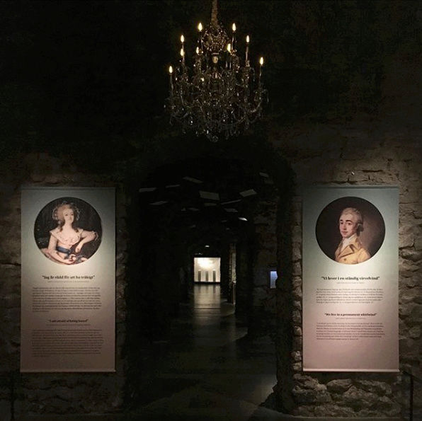 Expo sur Fersen et Marie-Antoinette - Palais royal de Stockholm Captu265