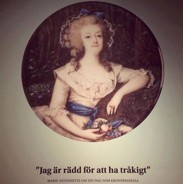 Expo sur Fersen et Marie-Antoinette - Palais royal de Stockholm Captu266