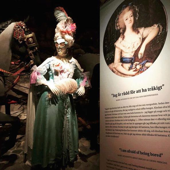 Expo sur Fersen et Marie-Antoinette - Palais royal de Stockholm Captu269