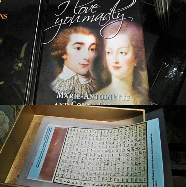 Expo sur Fersen et Marie-Antoinette - Palais royal de Stockholm Captu270