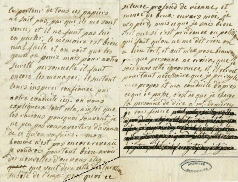 La correspondance de Marie-Antoinette et Fersen : lettres, lettres chiffrées et mots raturés - Page 25 Captu304