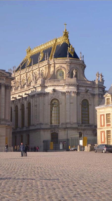 La restauration de la chapelle royale du château de Versailles Captu313