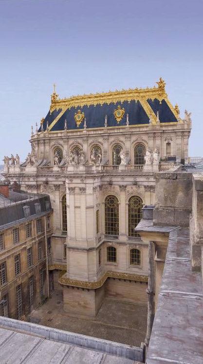 La restauration de la chapelle royale du château de Versailles Captu314