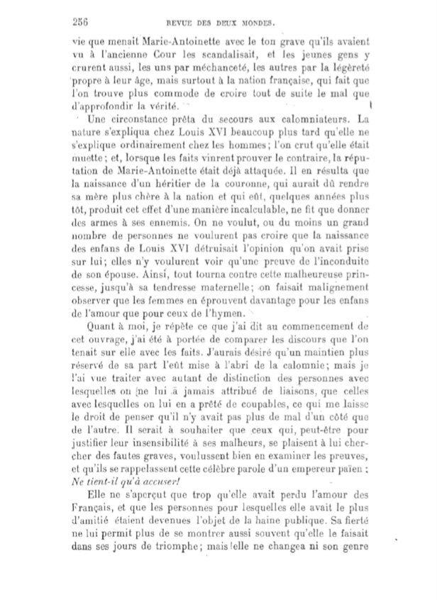 Mémoires de Louis XVIII sur Marie-Antoinette Captur50