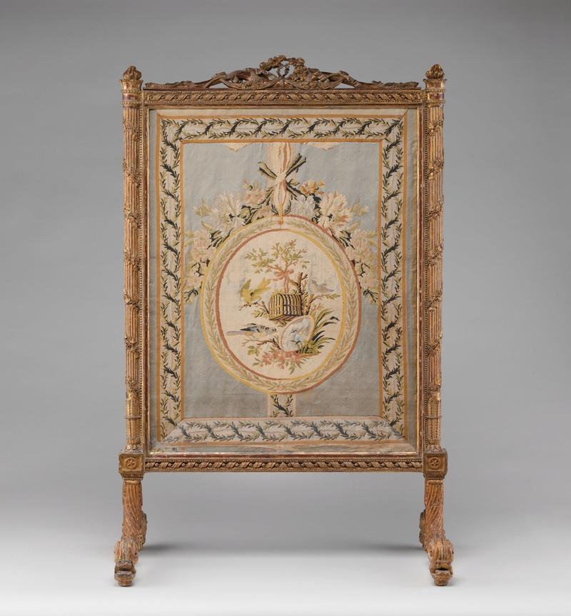 Le boudoir d'argent de Marie-Antoinette au château de Fontainebleau  Dp113110