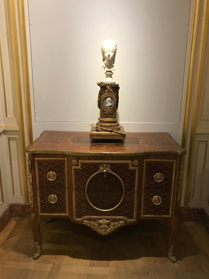 Buste de Marie-Antoinette sur piédestal dynastique, musée Cognacq Jay Img_1015