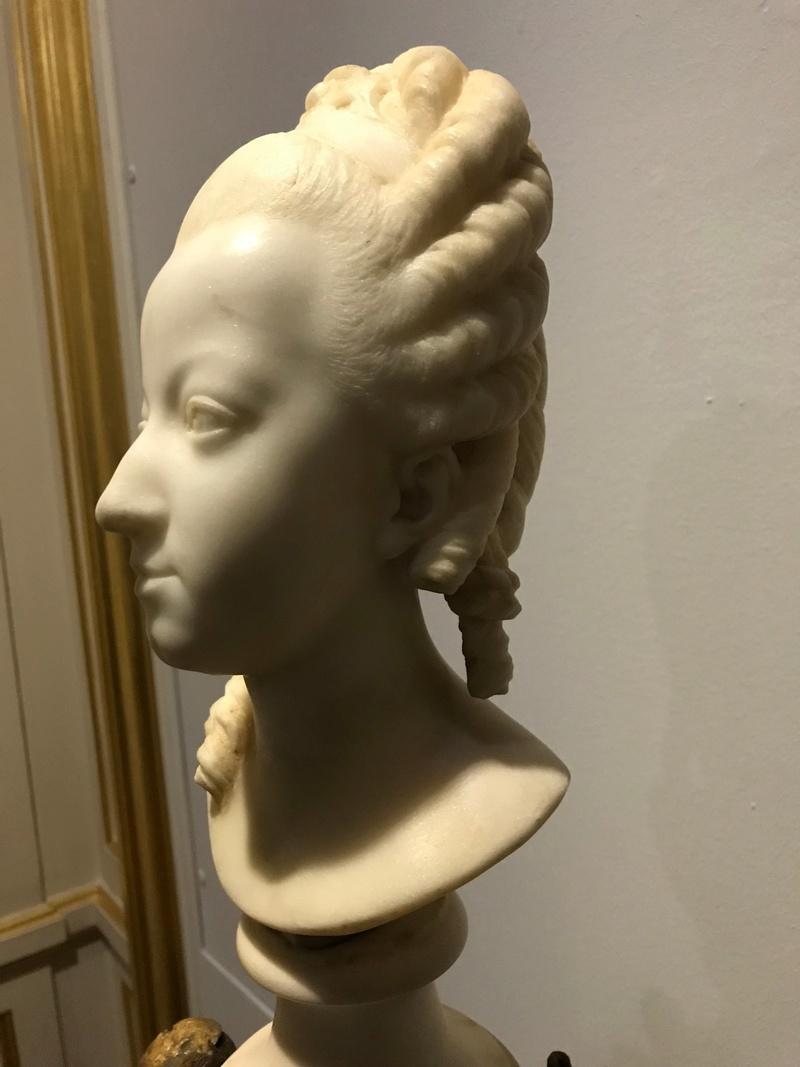 Buste de Marie-Antoinette sur piédestal dynastique, musée Cognacq Jay Img_1016