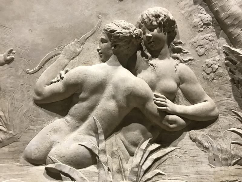 Le sculpteur Claude Michel, dit Clodion  (  1738 - 1814 ) Img_1936