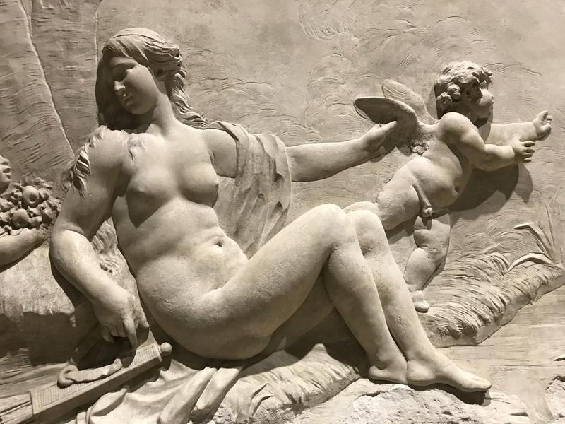 Le sculpteur Claude Michel, dit Clodion  (  1738 - 1814 ) Img_1938
