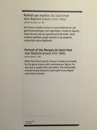La peinture et le mobilier XVIIIème au Rijskmuseum d'Amsterdam Img_4218