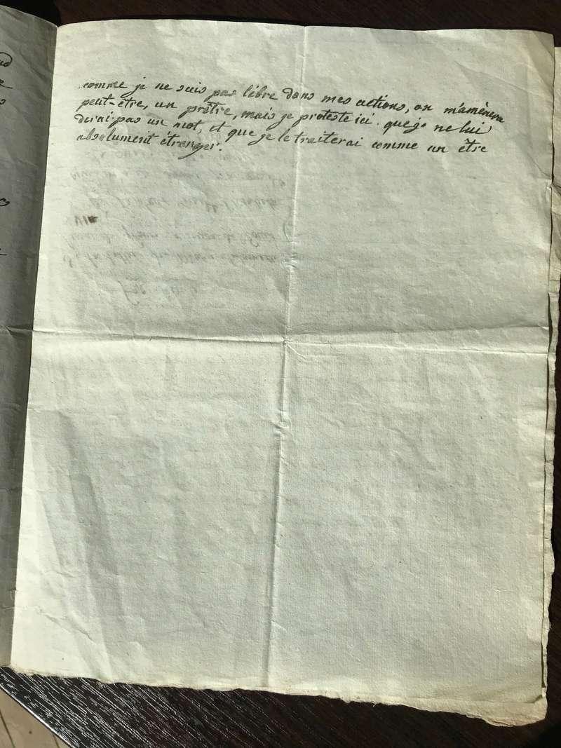 Testament / Lettre de Marie-Antoinette à Madame Elisabeth, le 16 octobre 1793 - Page 2 Img_4423
