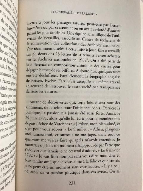farr - Marie-Antoinette et le comte de Fersen, la correspondance secrète, d'Evelyn Farr - Page 4 Img_4514