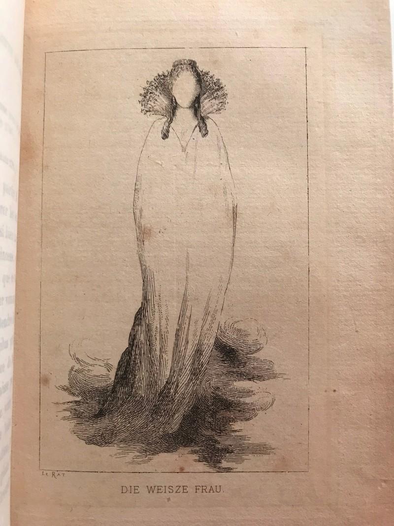 """Hesse - La """"Dame-Blanche"""" apparaît au prince Georges de Hesse la nuit précédant la mort de Marie-Antoinette  Img_5010"""