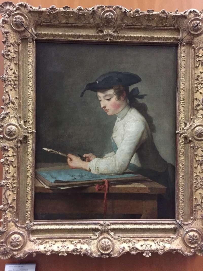 La peinture française du XVIIIème siècle au Louvre Img_8712