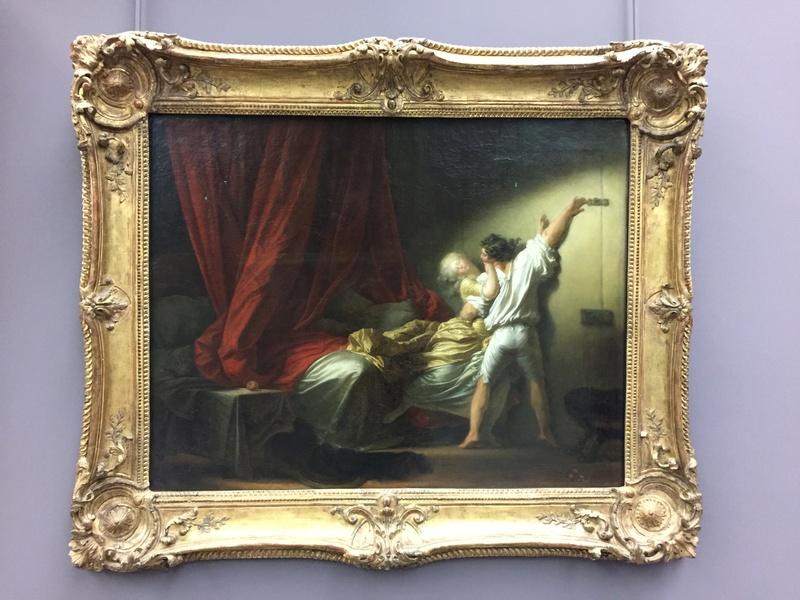 La peinture française du XVIIIème siècle au Louvre Img_8713
