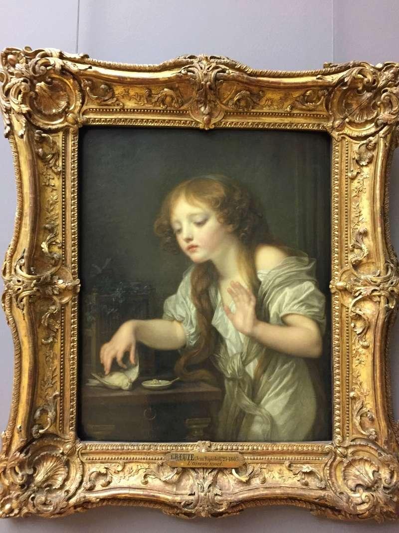 La peinture française du XVIIIème siècle au Louvre Img_8817