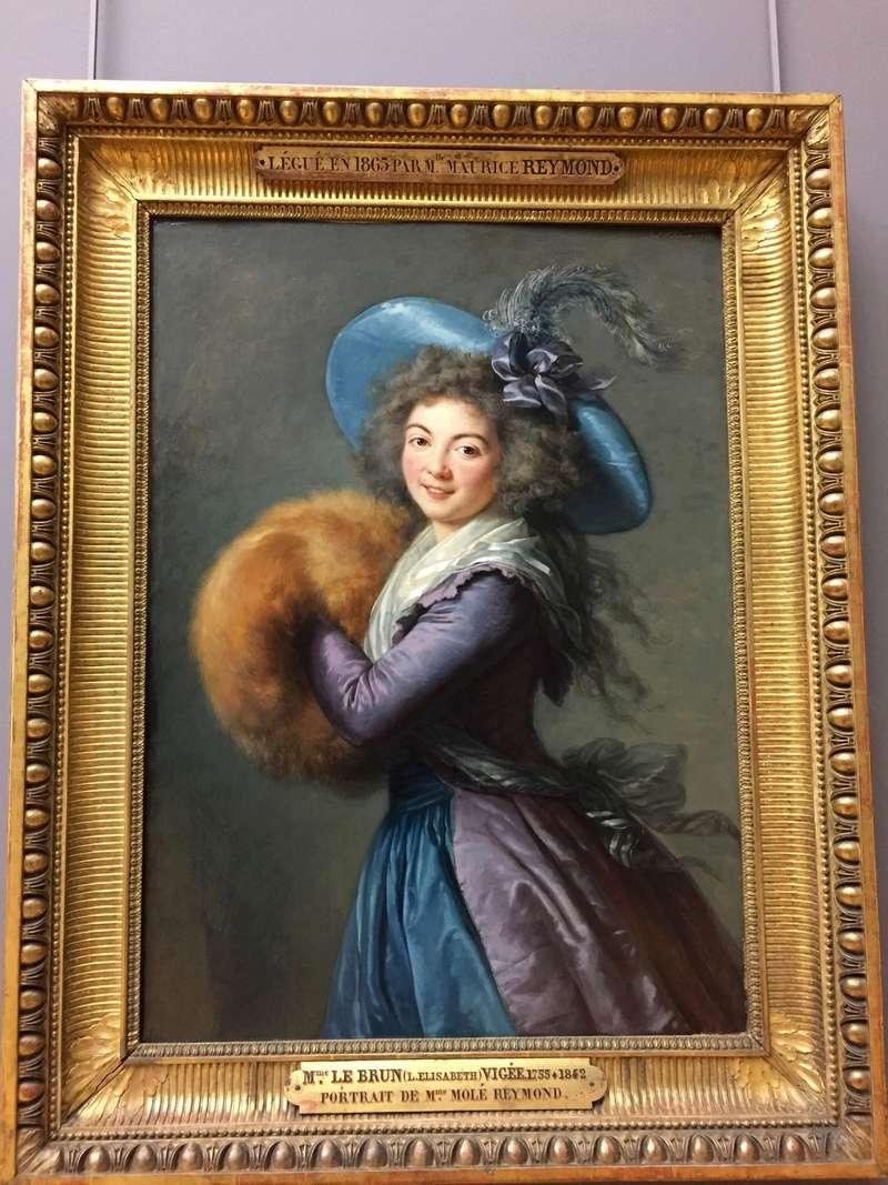 La peinture française du XVIIIème siècle au Louvre Img_8818