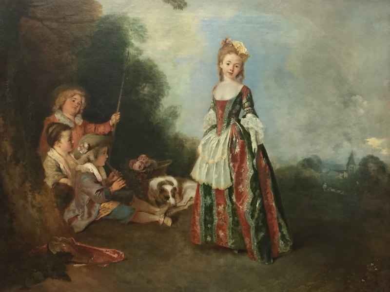 La peinture XVIIIème au musée de la peinture de Berlin (Gemäldegalerie) Img_9116