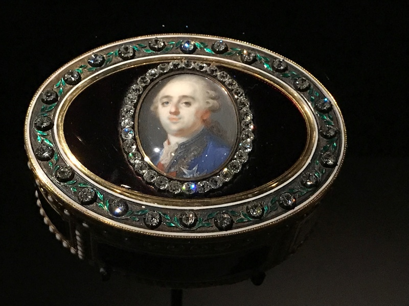 EXPOSITION - Exposition : Visiteurs de Versailles 1682-1789 Img_9225