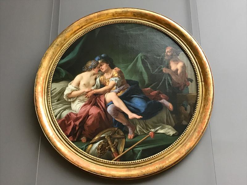 La peinture française du XVIIIème siècle au Louvre Img_9411