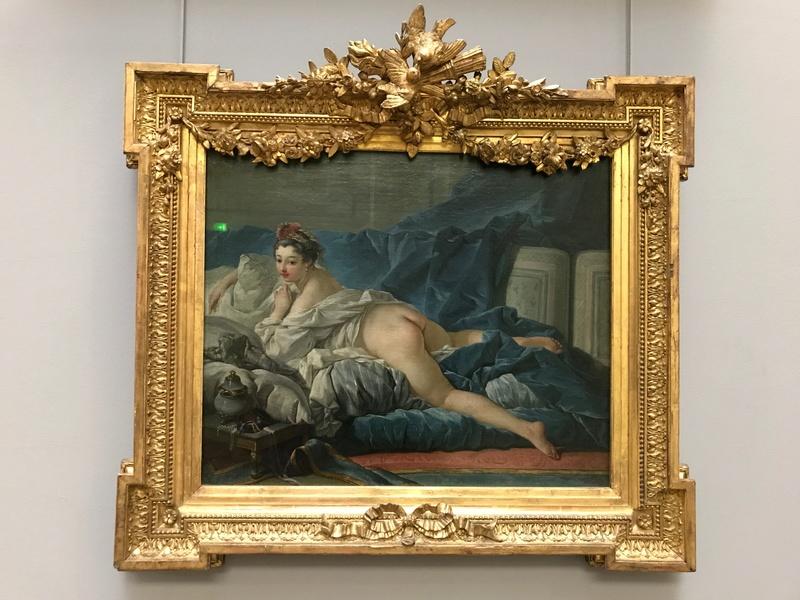 La peinture française du XVIIIème siècle au Louvre Img_9412