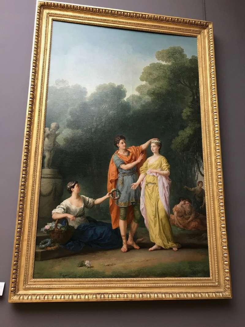 La peinture française du XVIIIème siècle au Louvre Img_9414