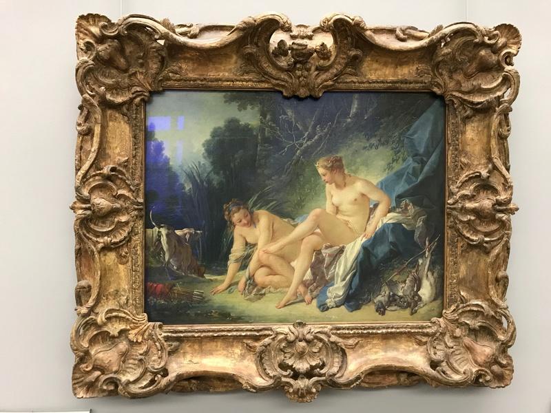La peinture française du XVIIIème siècle au Louvre Img_9415