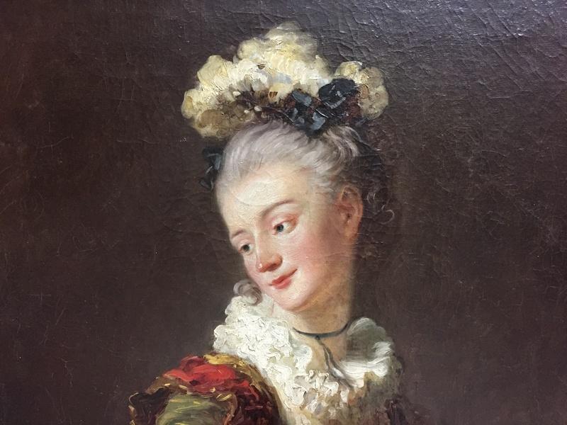 La peinture française du XVIIIème siècle au Louvre Img_9621